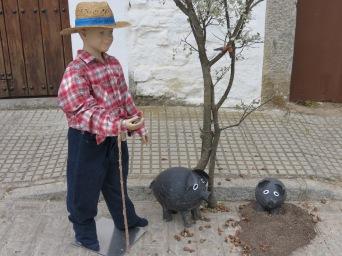 Spanish pigs make the best jamón